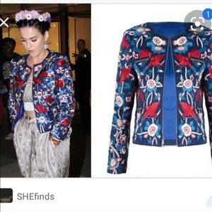 Alice and Olivia embroidered jacket!